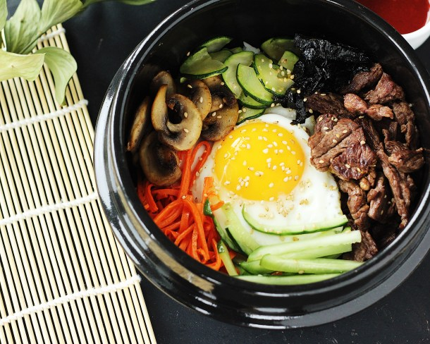 Beef & Vegetable Bibimbap Recipe 2