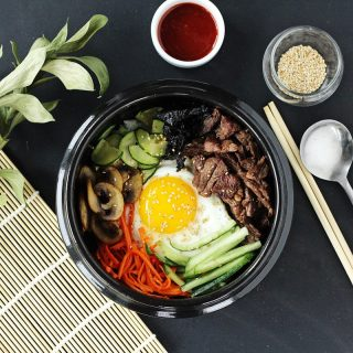 Beef & Vegetable Bibimbap Recipe
