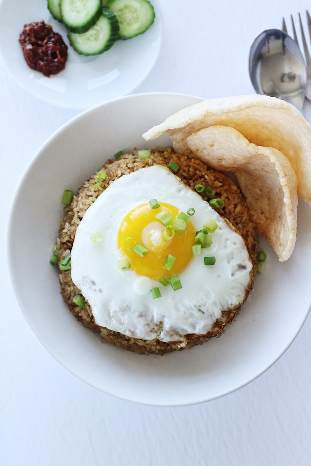 Indonesian Fried Rice (Nasi Goreng) Recipe