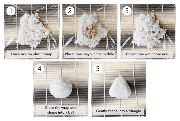 How to make nigiri japanese rice balls