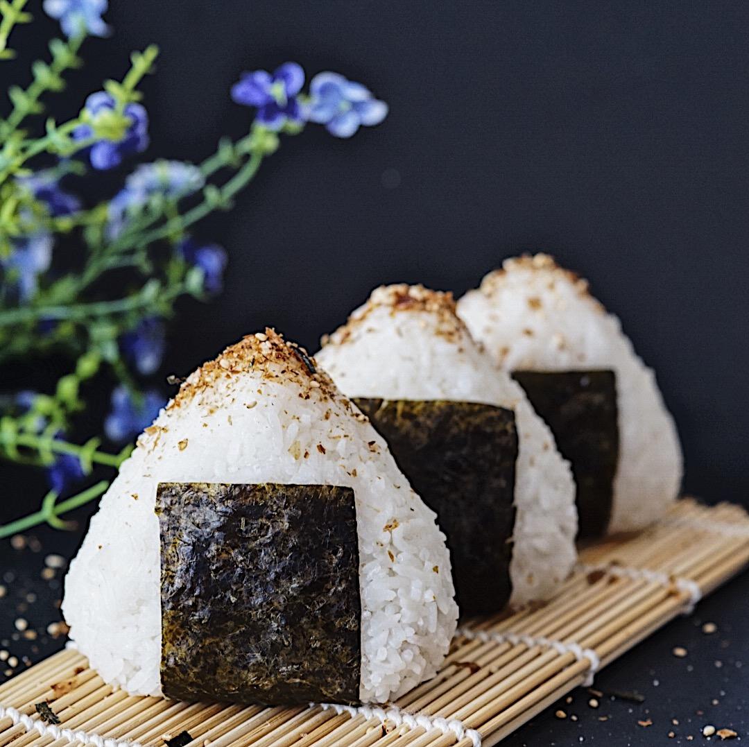 Tuna Mayo Onigiri Japanese Rice Balls Couple Eats Food