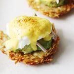 Hashbrown Avocado Eggs Benedict Recipe