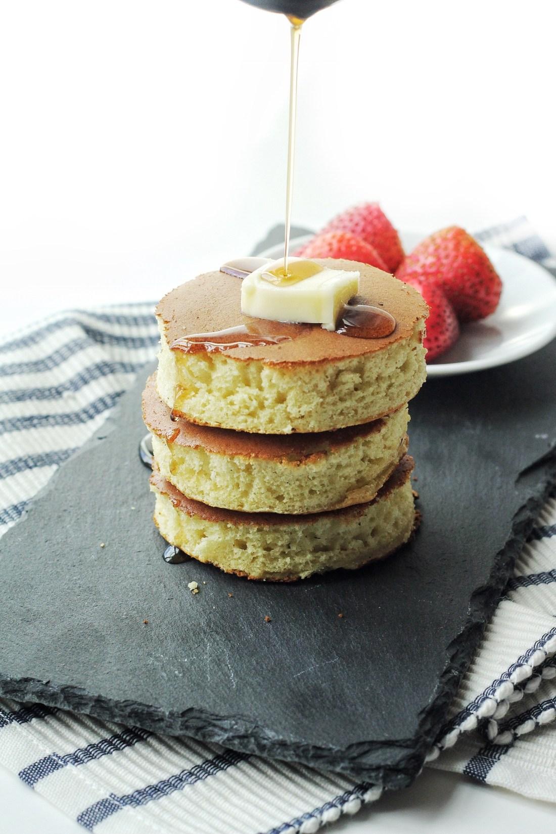 Fluffy Japanese Souffle Pancakes Recipe