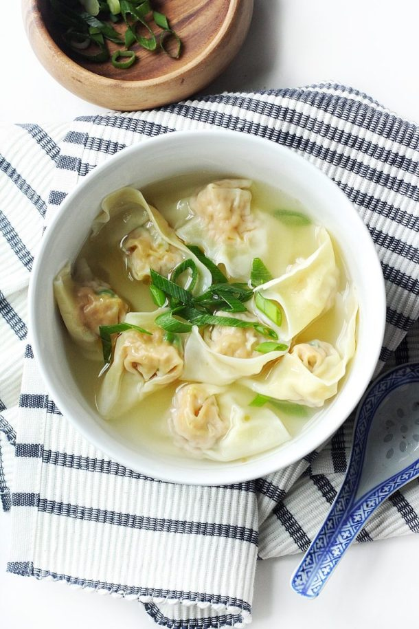 Homemade Wonton Soup Recipe