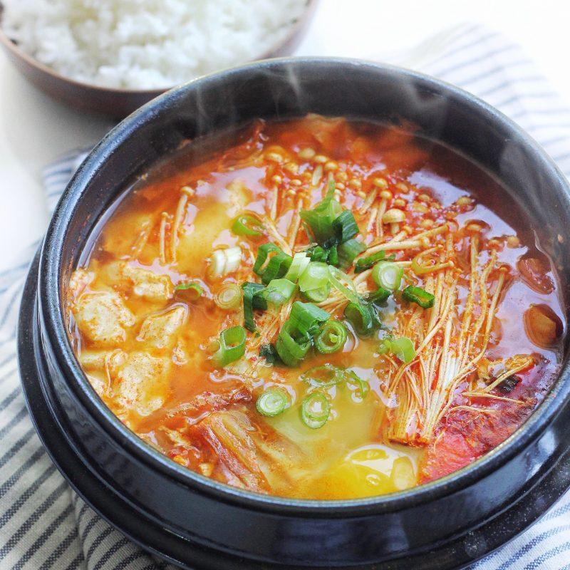 Spicy Korean Silken Soft Tofu Stew (Soondubu Jjigae ...