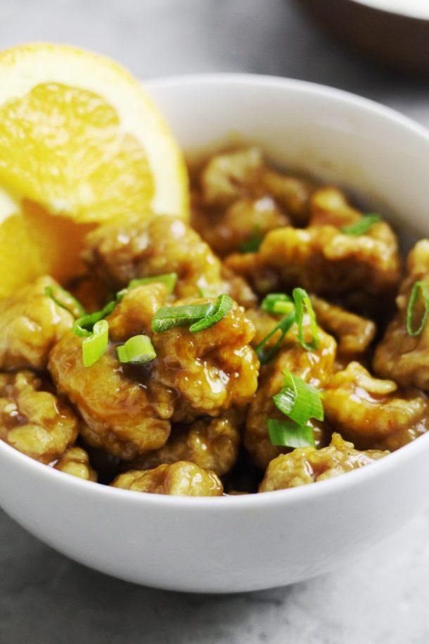 Spicy and Crispy Orange Chicken