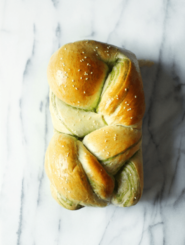 Matcha Milk Japanese Fluffy Bread