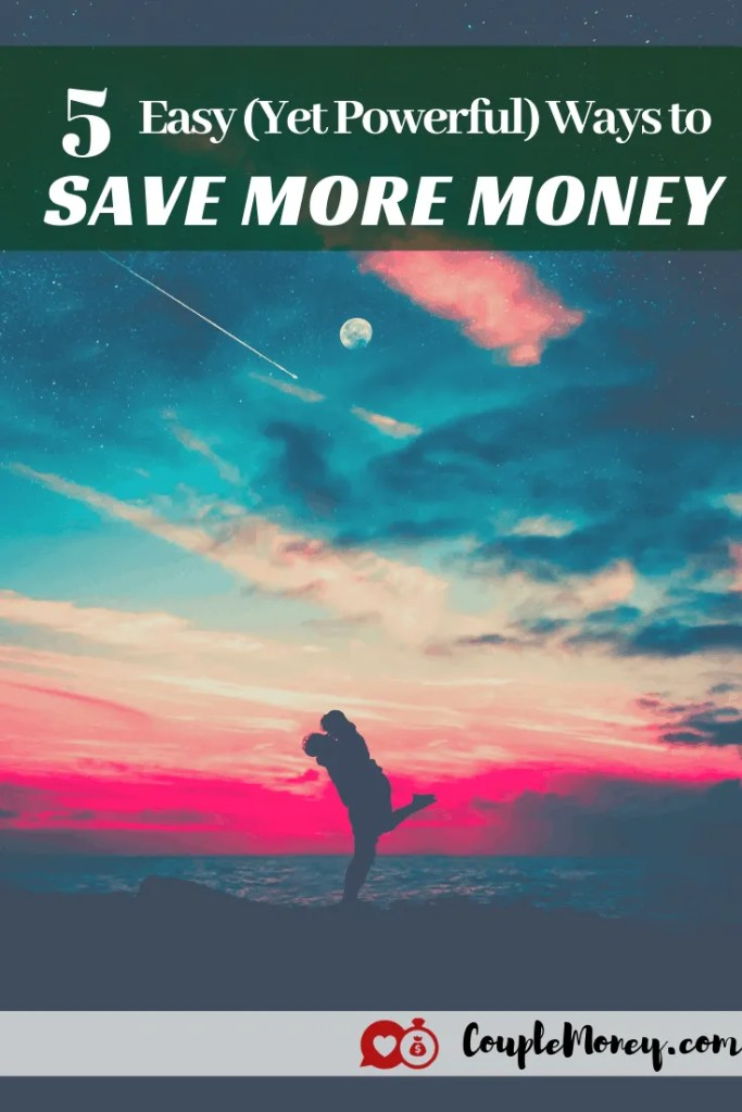 Do you feel like you're not making any progress with your savings this year? Here are five simple and powerful ways you can save a lot more money! #marriage #money #save #debtfree #fi #FIRE