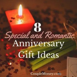 Celebrate your special love with these eight romantic anniversary gift ideas.