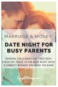 Overdue for a night out together? Check out these 10 fun date night ideas for busy parents! You two can connect without breaking the bank.