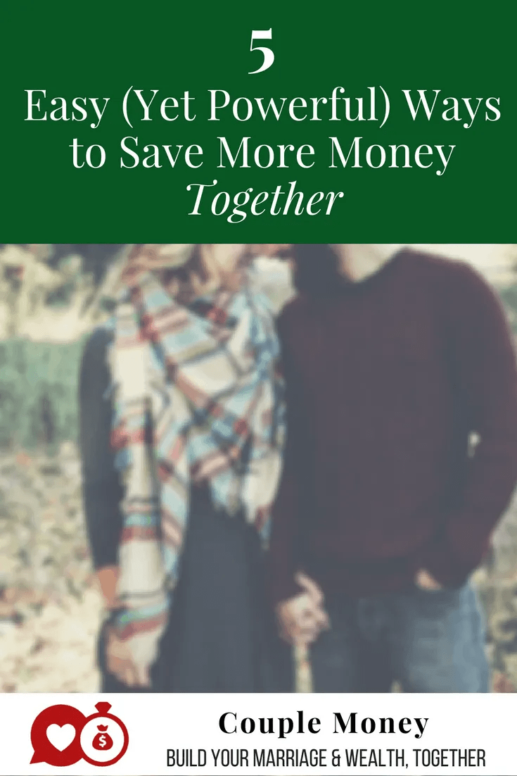 Do you feel like you're not making any progress with your savings this year? Today I'm going to share five simple and powerful ways you can save a lot more money! #marriage #money
