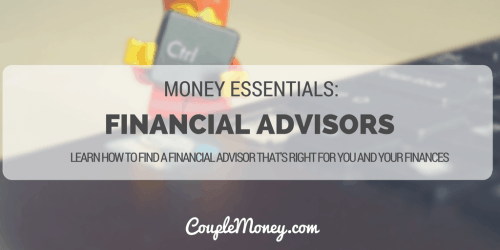 FINANCIAL PLANNERS ADVISOR BEHAVIOR GAP COUPLE MONEY