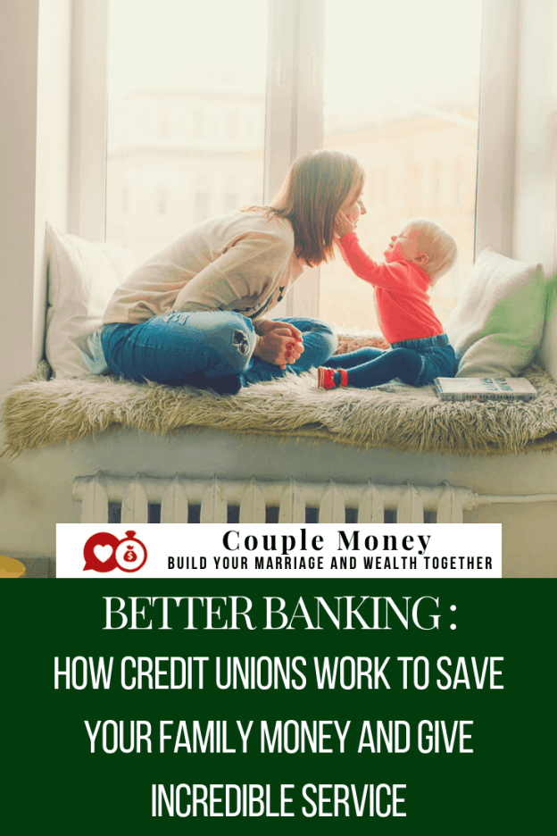 Looking for a better banking option for your family? Learn how your local credit union can save and make you more money while still offering incredible customers service! #family #money #creditunions #banking