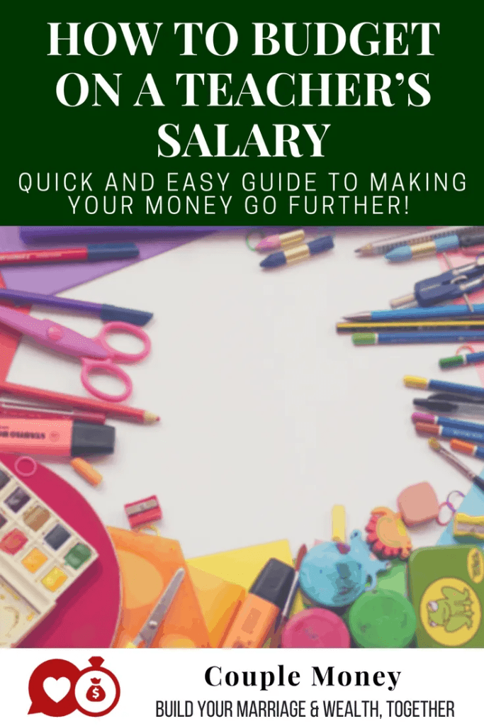 Want to not just survive, but thrive on a teacher's budget? Here are key tips to make sure you're making the most of your money! #family #money #budget