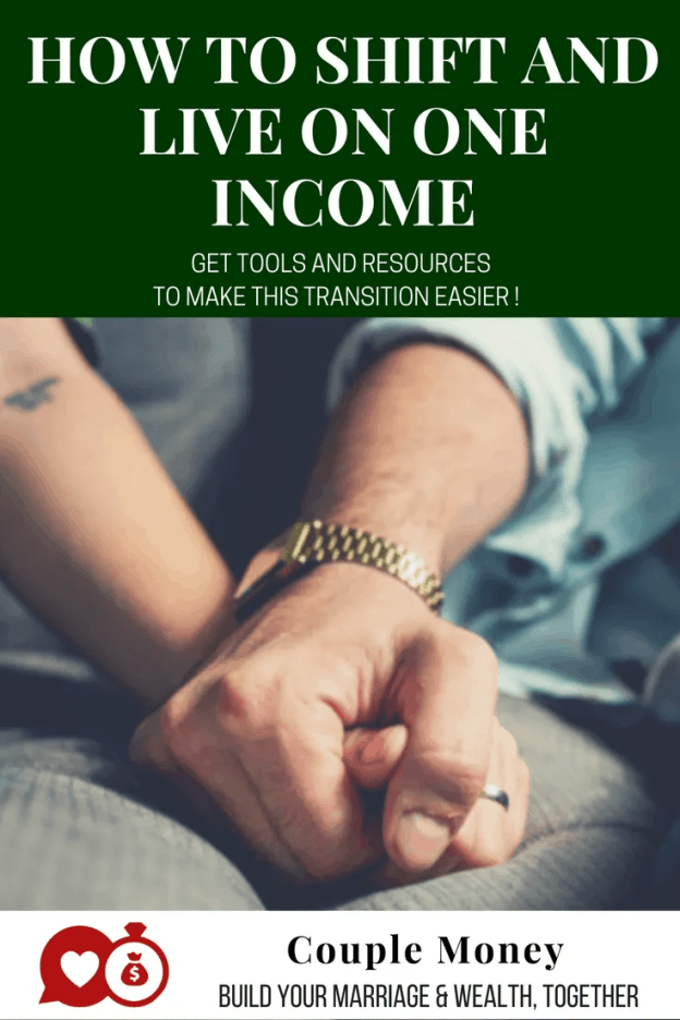 Learn how your family can live well on one income while hitting big goals like knocking out debt and saving for your dreams!  #marriage #money #debtfree