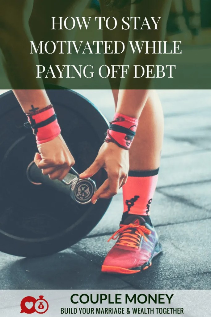 Getting out of debt can be tough on a marriage, especially if you have a massive amount. Learn three crucial keys that can help you two stay motivated while you knock yours out! #debtfree #money #personalfinance