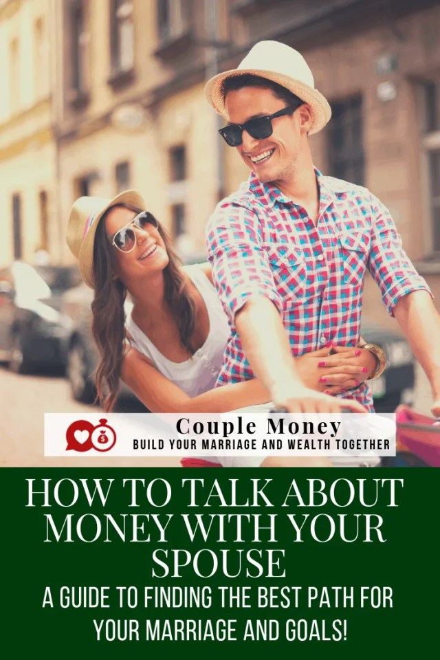 Trying to pay down debt, but having a hard time talking about money? these tips helped us to get on the same page and win with our money goals! #marriage #money #debtfree