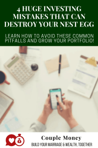 Do you want to make sure your nest egg is ready and able to take care of your retirement? Today I share 4 bad investing habits that can sabotage your portfolio and how you can avoid them!
