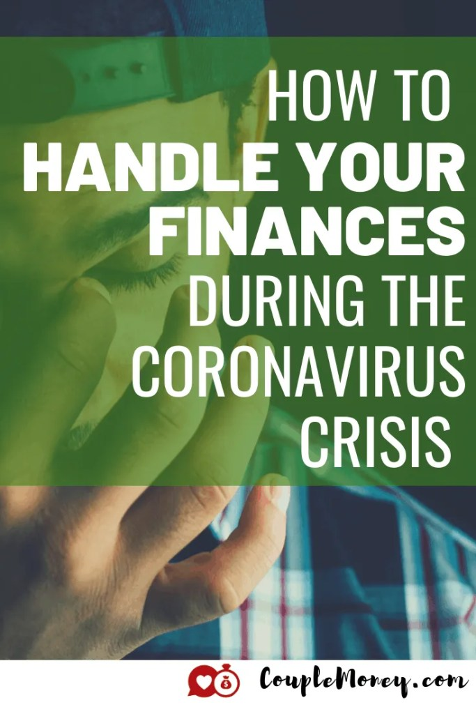 Today we're going to jump in on ways you can adjust your finances during the coronavirus crisis to get through these tough times!