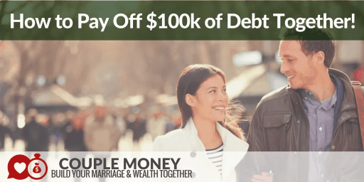 Are you two stressed out over a large amount of debt? Learn the key strategies and tactics Travis and Vonnie used to pay off over $100,000 of credit card debt together!  #marriage #money #podcast