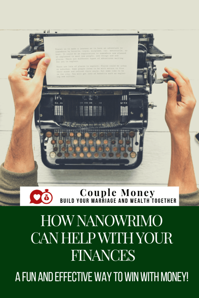 Looking to know our a big money goal this year? Learn how NaNoWriMo helped me to focus and make our finances easier to manage! #NaNoWriMo #money #moneytips