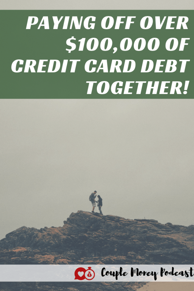 Are you two stressed out over debt? Learn how Travis and Vonnie worked together and paid off over $100,000 of credit card debt!  #marriage #money #debtfree