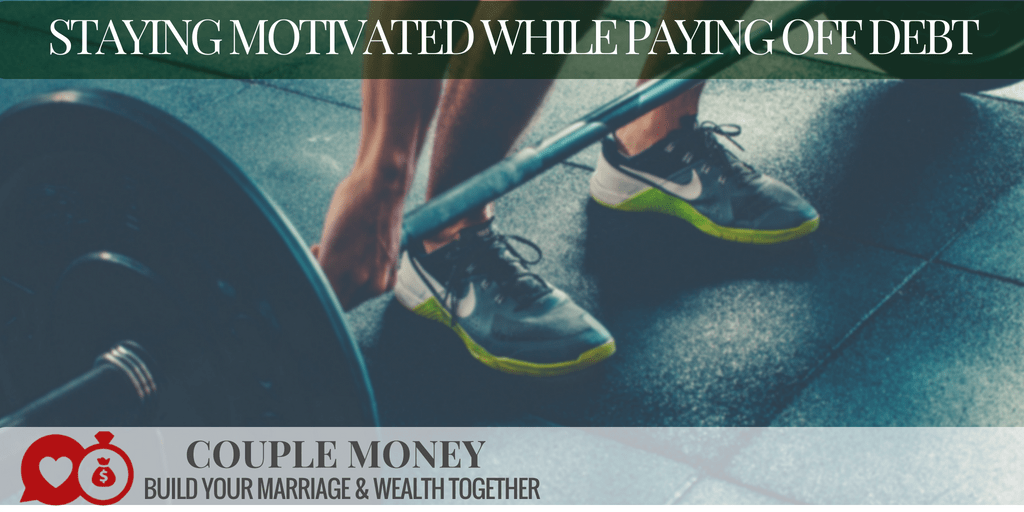Getting out of debt can be tough on a marriage, especially if you have a massive amount. Learn 3 crucial keys to stay motivated until you knock it out!