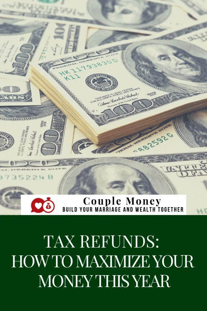 Are you expecting a big tax refund? Find out how you can set yourselves up to keep more in money in your pocket going forward! #family #money #personalfinance #taxtips