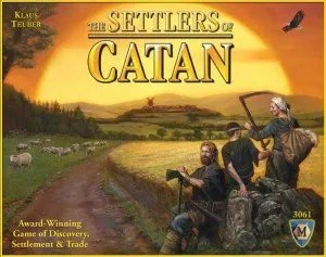 settlers of catan game night