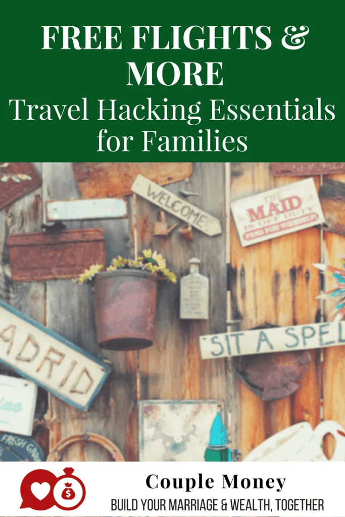 Want to score free flights on your next trip? Learn the essentials of travel hacking! #family #vacations #savings #money #travel #travelhacking
