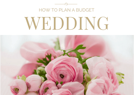 Have your dream wedding while sticking to your budget