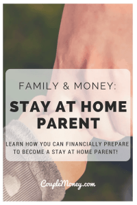 Want to have more time with your kids? Get tips on how to prepare your finances to become a stay at home parent!