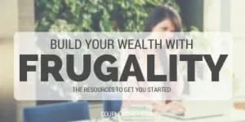 build wealth with frugality couple money