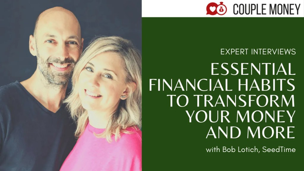 Bob Lotich from SeedTime Money shares key habits that helped him break the paycheck to paycheck and debt cycle. We also get into how to encourage your spouse to get on board and tackle finances together!