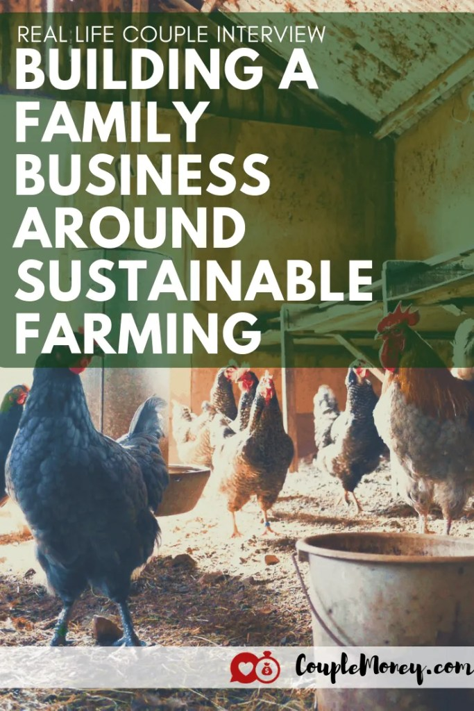 Learn how Justin and Rebekah Rhodes of Abundant Permaculture worked through illness and financial lows to create a family business around sustainable farming (while raising four kids)! #gardening #family #money #entrepreneurship #marriage
