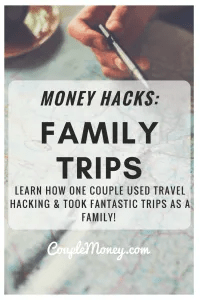 Learn how one family used travel hacking to take free and cheap trips with their kids!