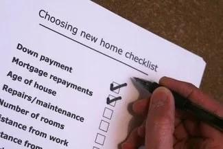 money checklist