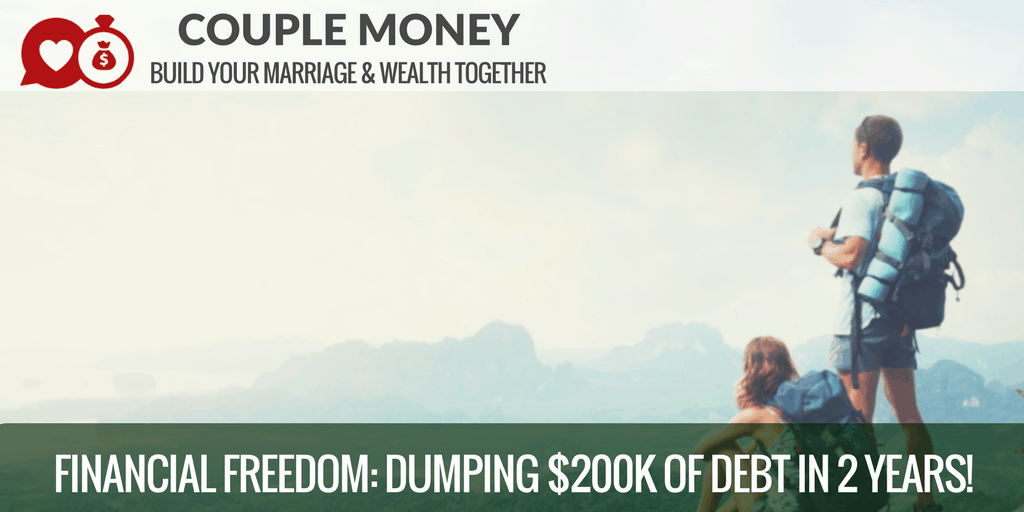 Tired of your debt restricting your options? Learn how Claudia & Garrett from Two Cup House dumped $200k in two years by simplifying their lives and moving into a tiny house!