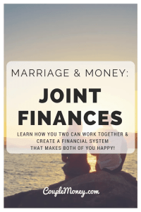 Trying to figure out joint finances now that you're married? Learn how you two can work together and create a financial system that makes both of you happy!