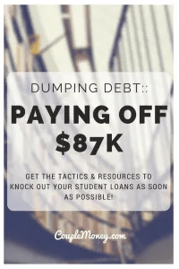 GET THE TACTICS & RESOURCES TO KNOCK OUT YOUR STUDENT LOANS AS SOON AS POSSIBLE!