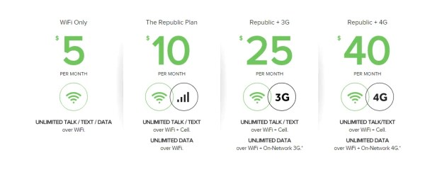 Republic Wireless offer cheap unlimited cell phone plans.