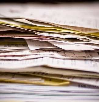 tax deductions and paperwork