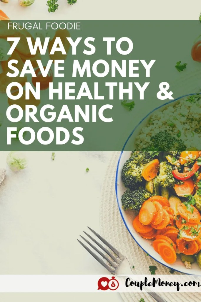 Love to eat well, but you're on a budget? Learn how to be a frugal foodie with these money saving and savvy shopping tips! #food #foodie #organic #family #money #groceries