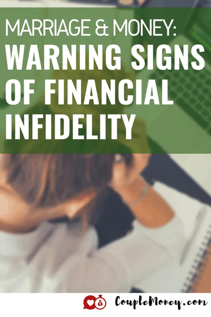 Financial infidelity can ruin a marriage. Learn how you can set up a financial system that allows you to be open and honest with your finances and work together with money! #marriage #money