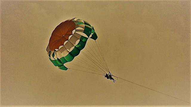Parasailing at Benaulim beach