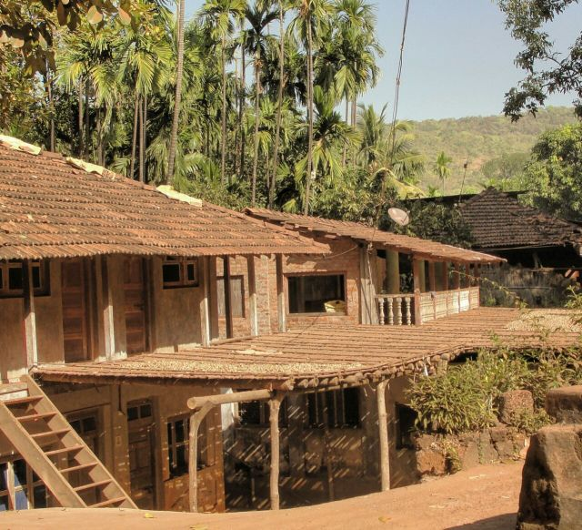 A typical house in Konkan