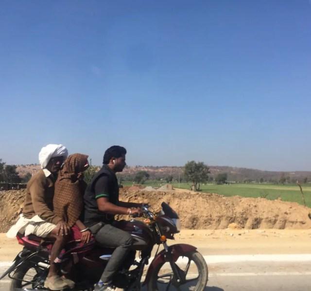 Traffic in Udaipur