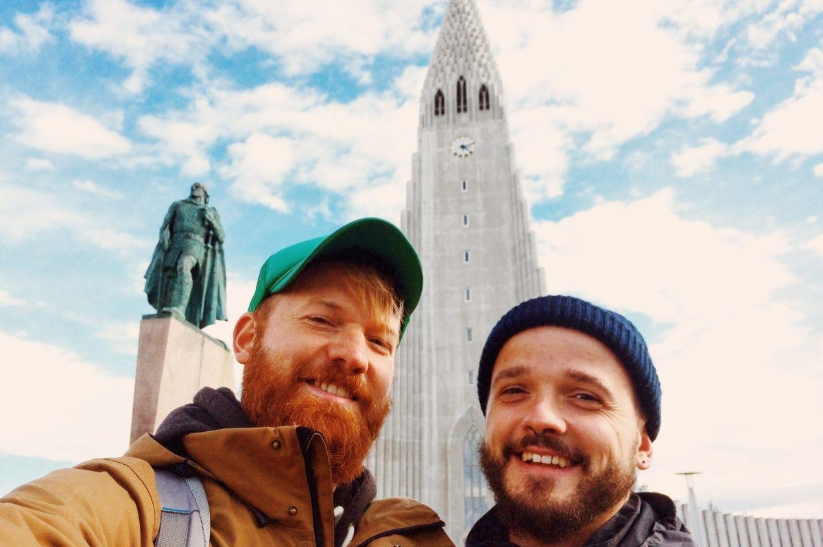 Gay Couple City Weekend Reykjavik Iceland Road Trip Part 1 © CoupleofMen.com