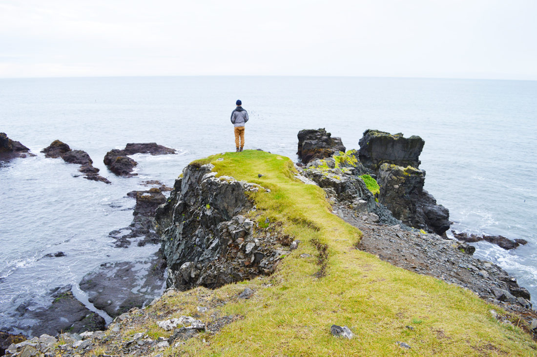 Karl could stand there for hours | Gay Couple Road Trip East Iceland © Coupleofmen.com