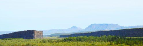 Panorama view Ásbyrgi   Gay Couple Road Trip East Iceland © Coupleofmen.com